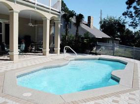 Fiberglass swimming pools ridge water pools for Fiberglass pool manufacturers